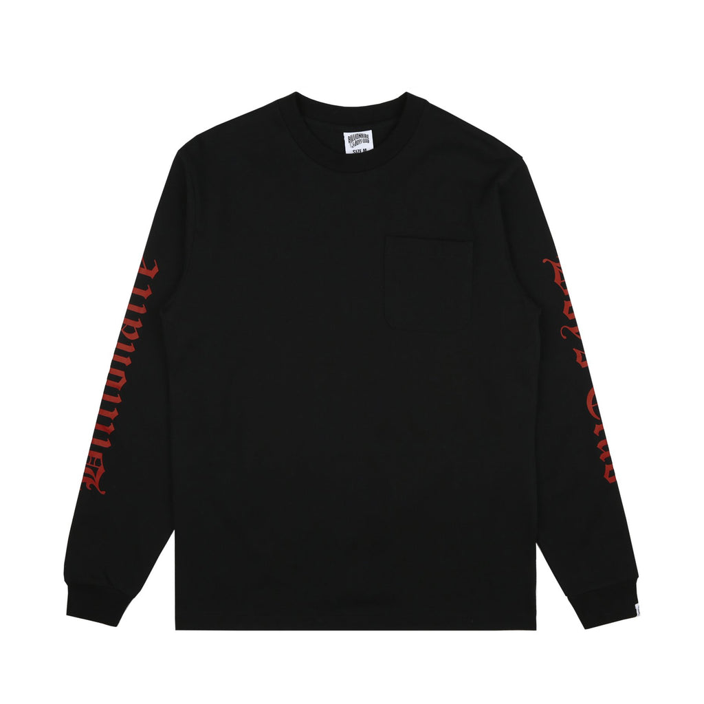 COLLEGE L/S POCKET T-SHIRT