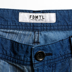 BORO PATCHWORK SHORT PANTS 2YR WASH