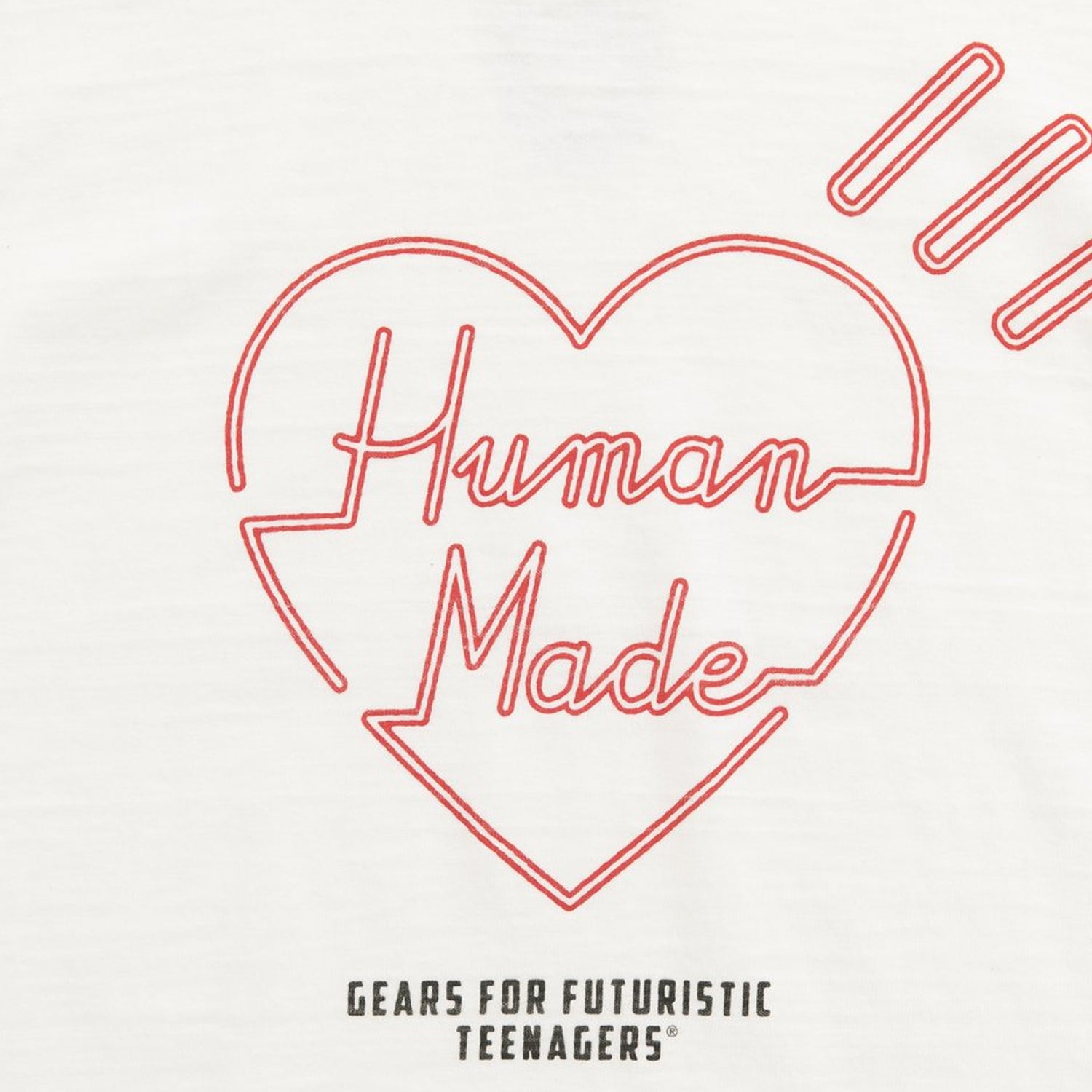 HM NEON HEART T-SHIRT