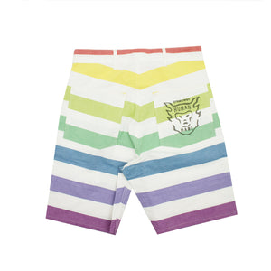 MULTI BORDER PRISONER SHORTS