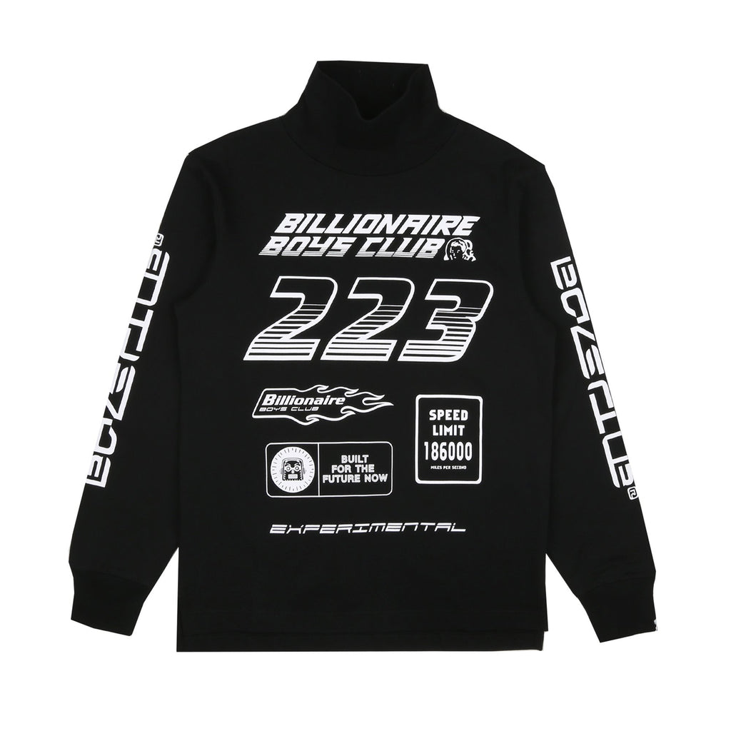 MULTI LOGO TURTLENECK