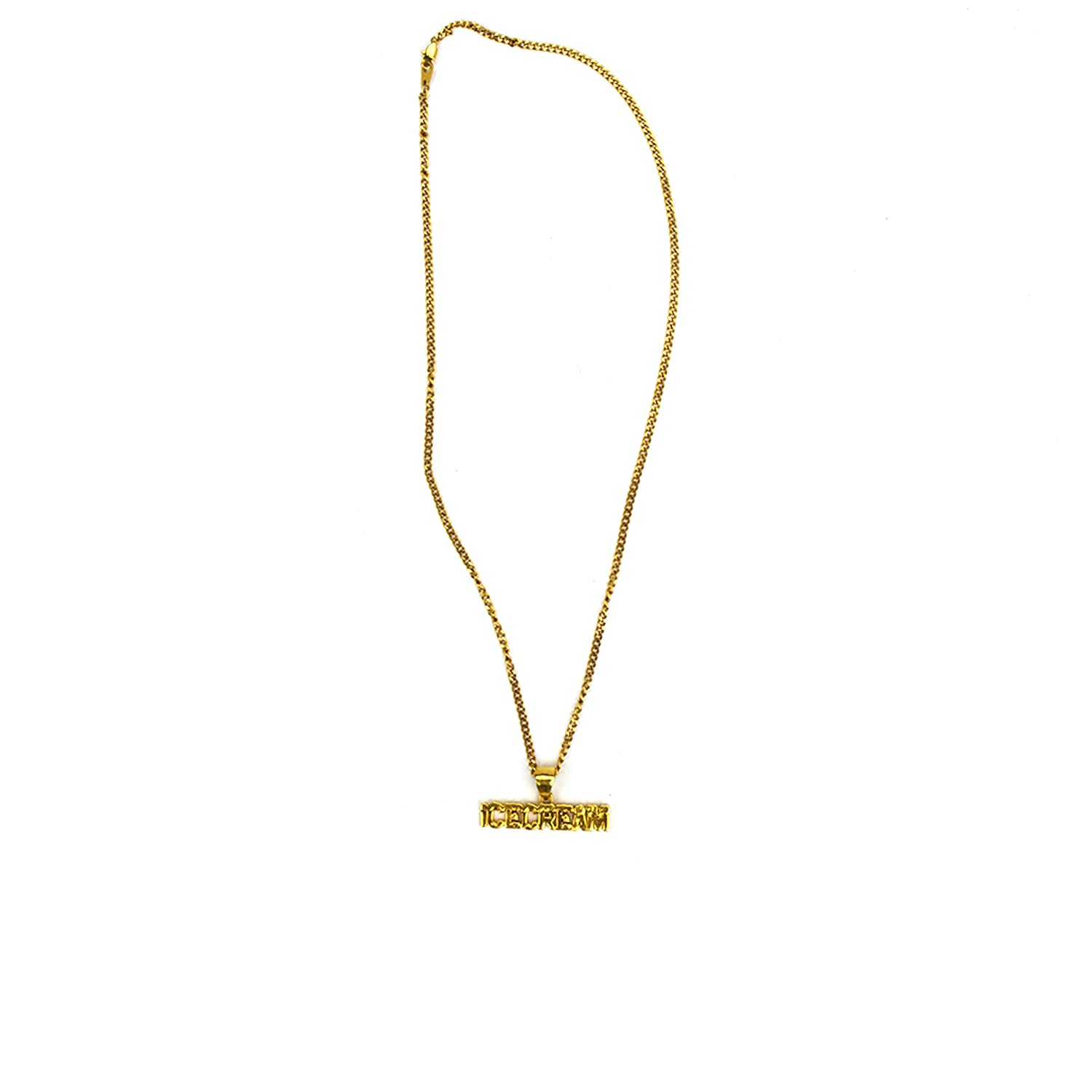 ICECREAM GOLD PLATED NECKLACE