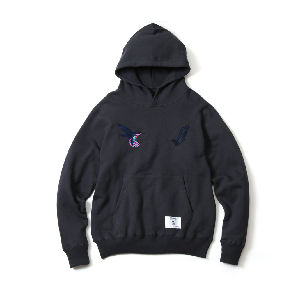 BBC X FDMTL PULLOVER EMBROIDERED HOODIE