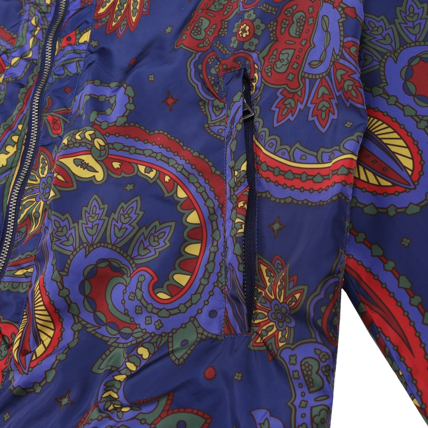 PAISLEY NYLON JACKET