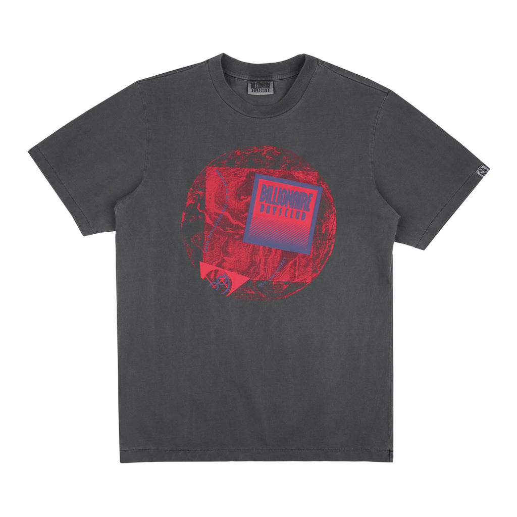 PIGMENT DYED WORLD MAP T-SHIRT
