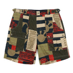 FRESH WATER PRINT COTTON SHORT