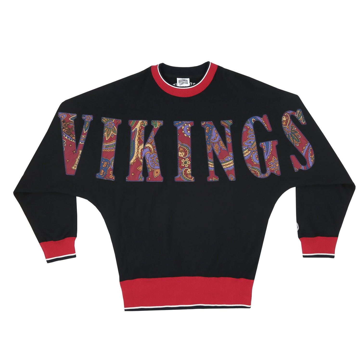VIKINGS APPLIQUE CREWNECK