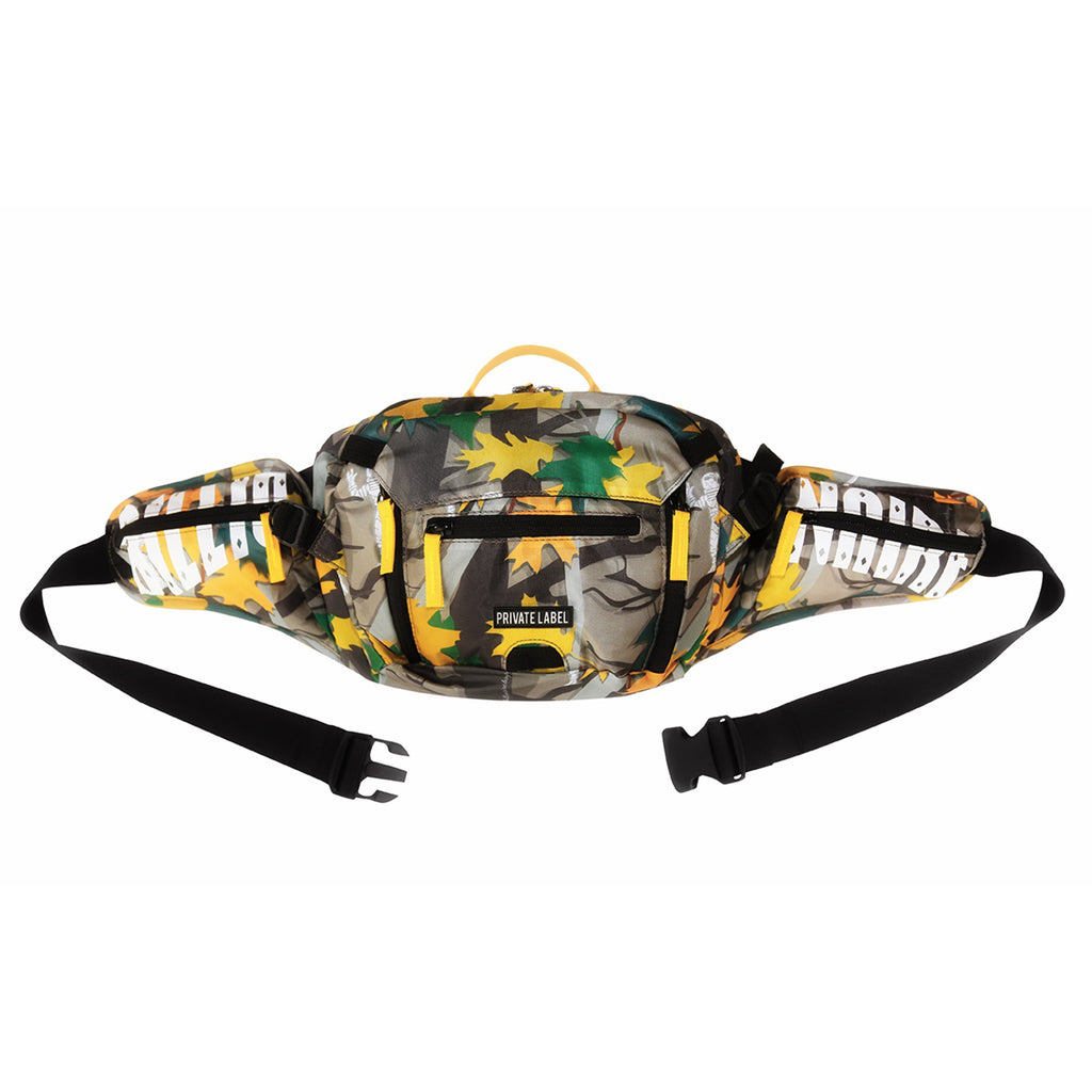 BILLIONAIRE BOYS CLUB X PRIVATE LABEL REAL TREE CAMO SLING BAG