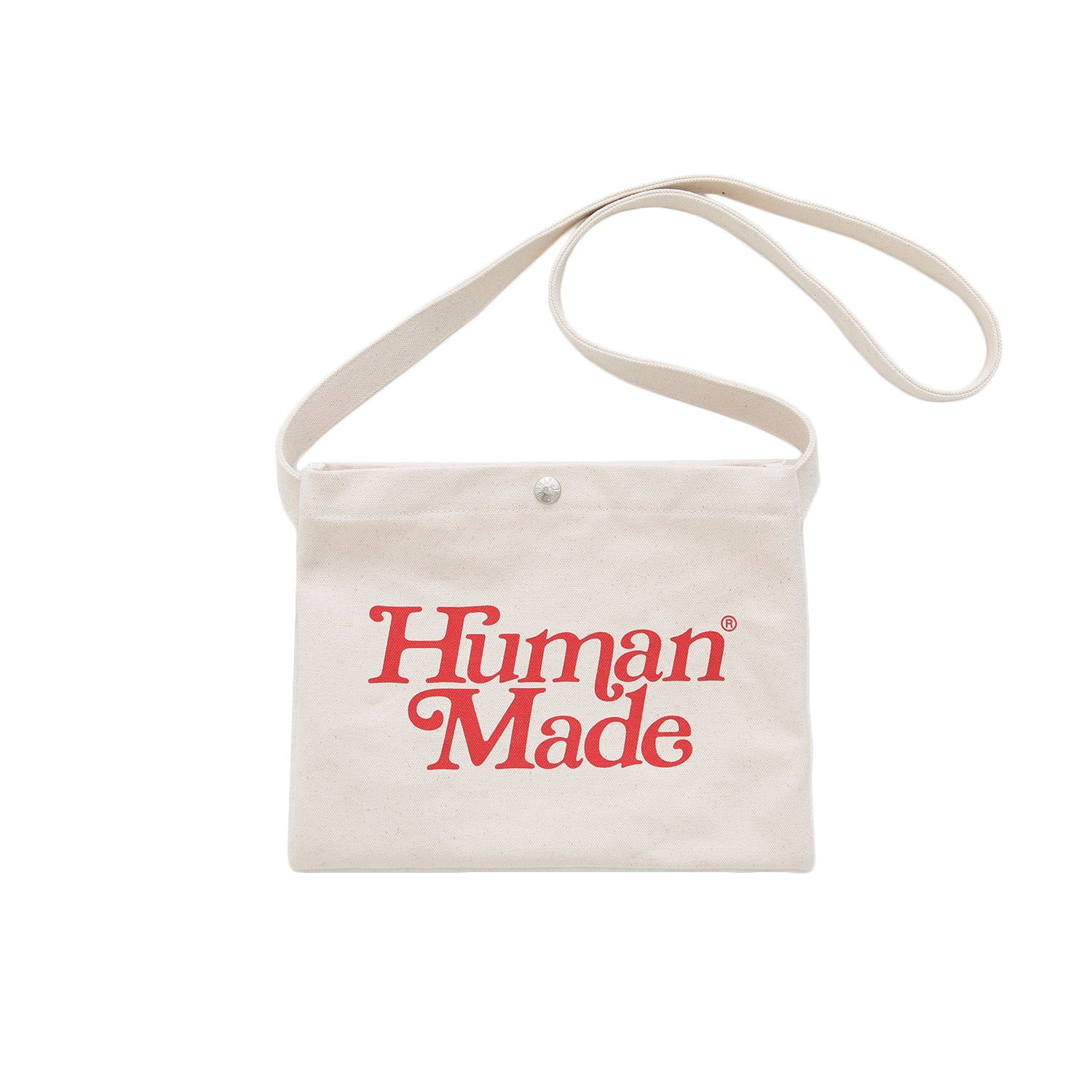HUMAN MADE x GIRLS DON'T CRY HEART SATCHEL