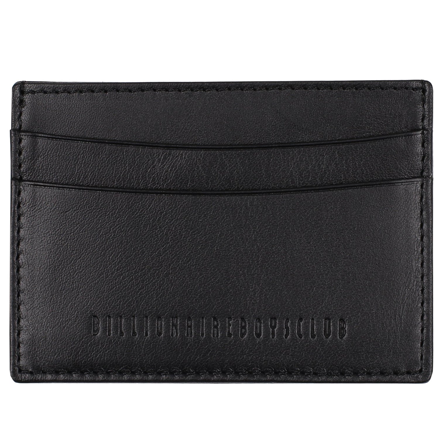 DEBOSSED LEATHER CARD HOLDER