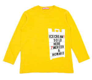 Icecream 7 MERCER L/S TEE PINEAPPLE
