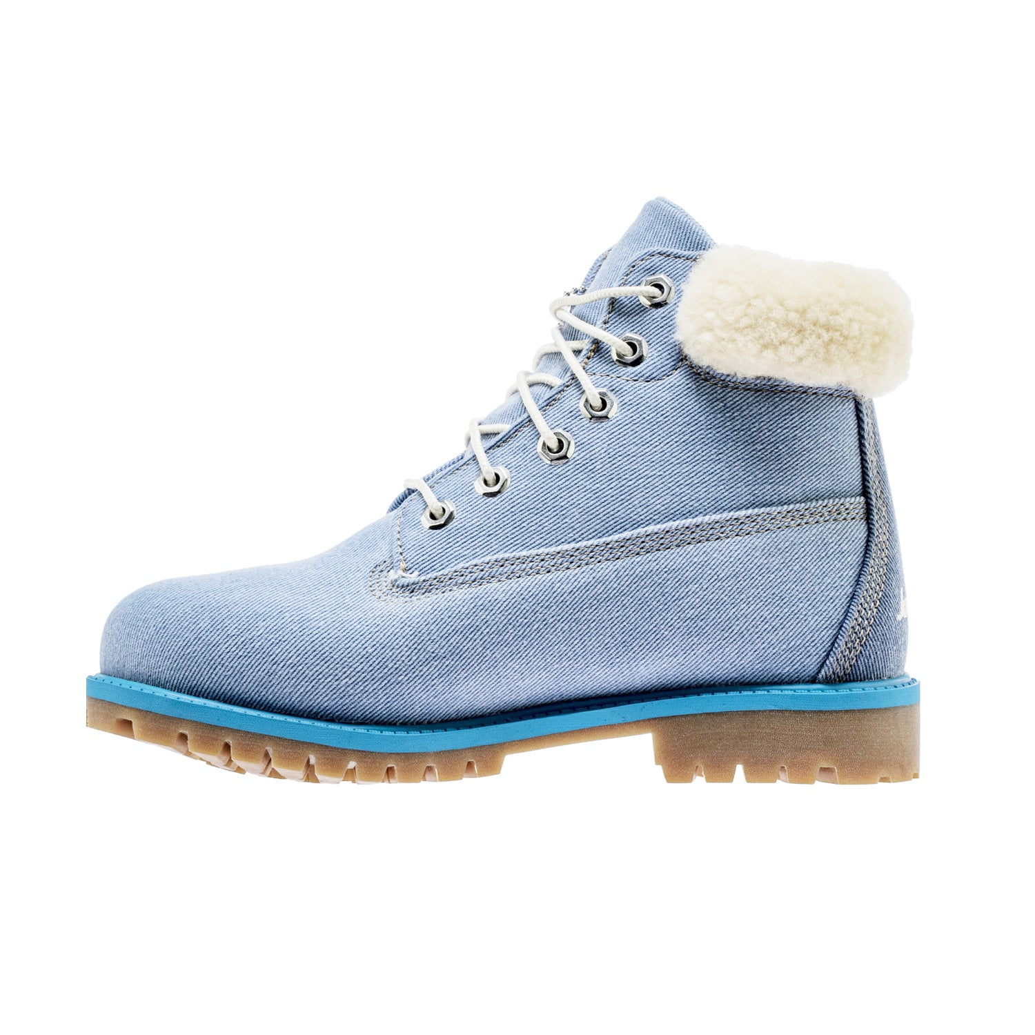 JUST DON X TIMBERLAND DENIM JUNIORS 6 INCH