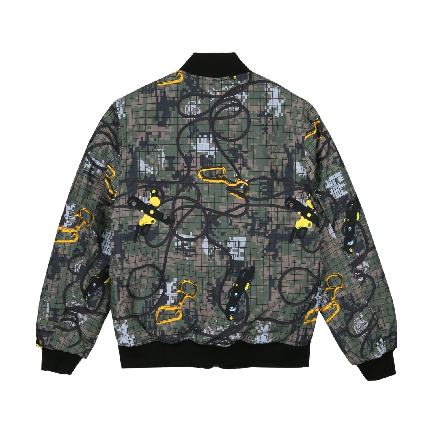 REVERSIBLE FLEECE BOMBER