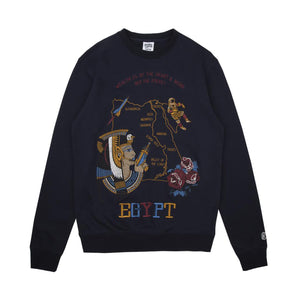 SOUVENIR EMBROIDERED CREWNECK