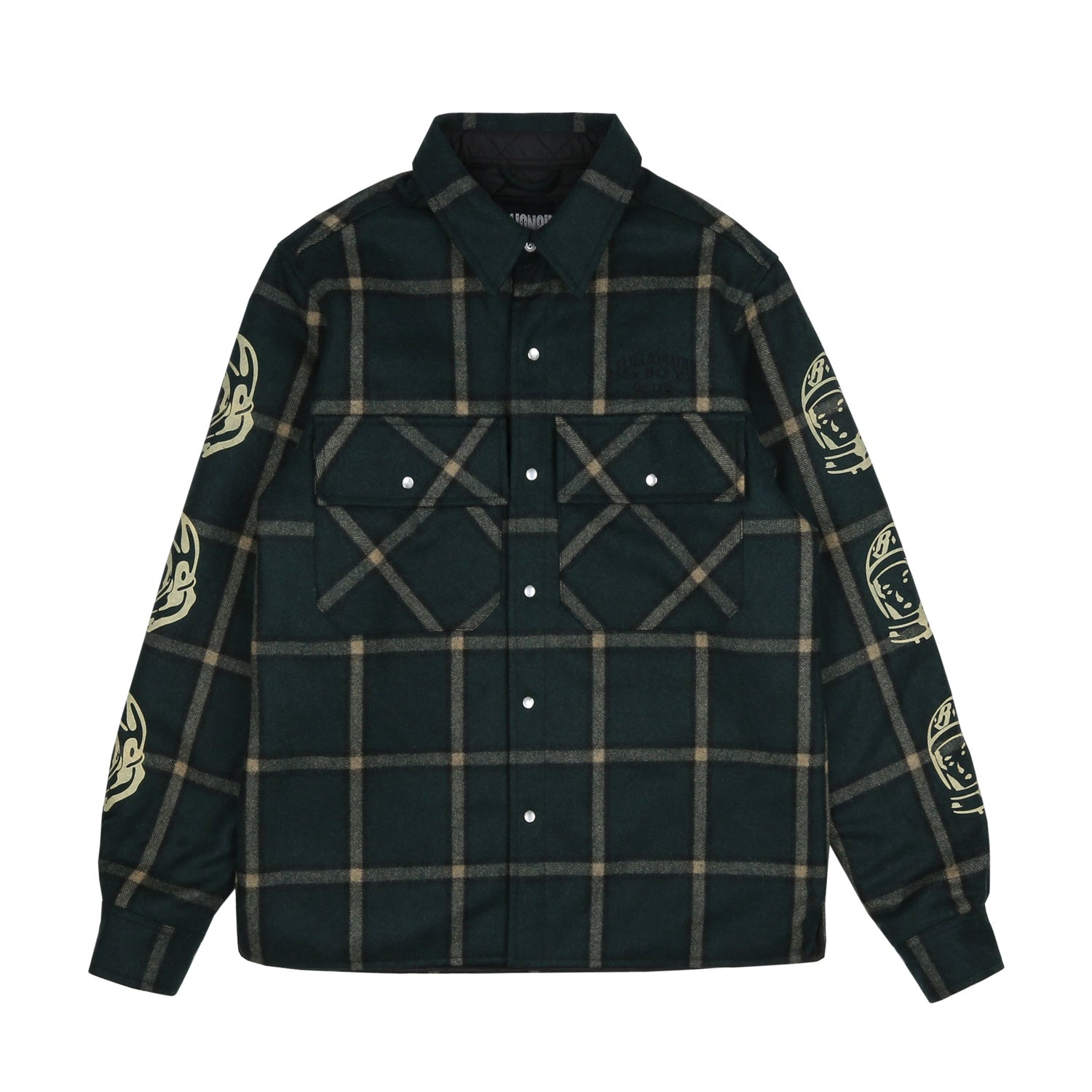 QUILTED CHECK SHIRT