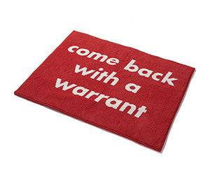 NEIGHBORHOOD WARRANT MAT