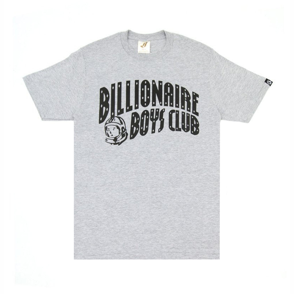 CLASSIC CURVE LOGO TEE GRAY/BLK