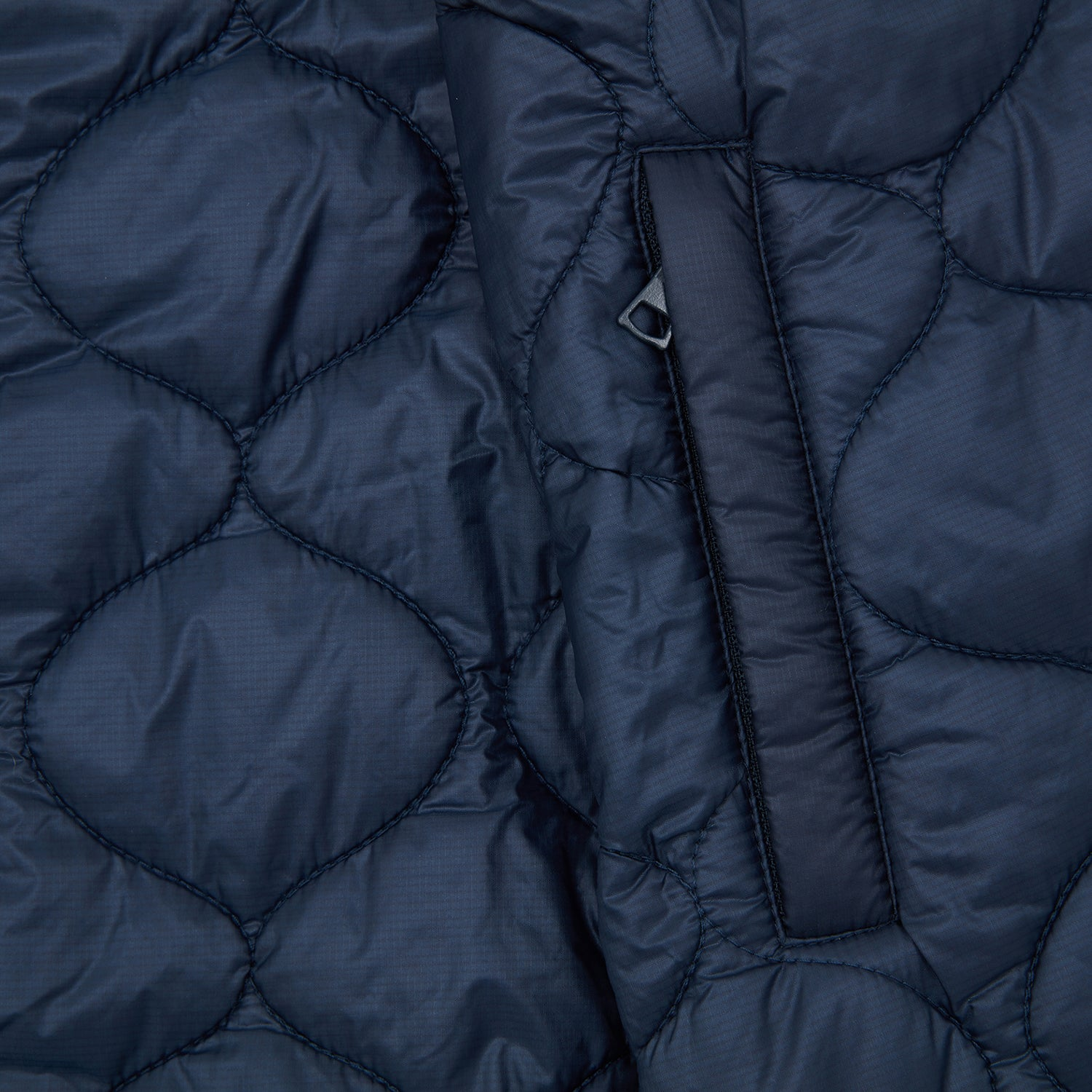 QUILTED NYLON WINDBREAKER