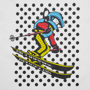 SPACE SKI GRAPHIC T-SHIRT