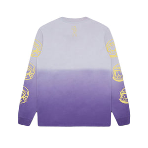 DIP DYE EFFECT LONG SLEEVE TEE