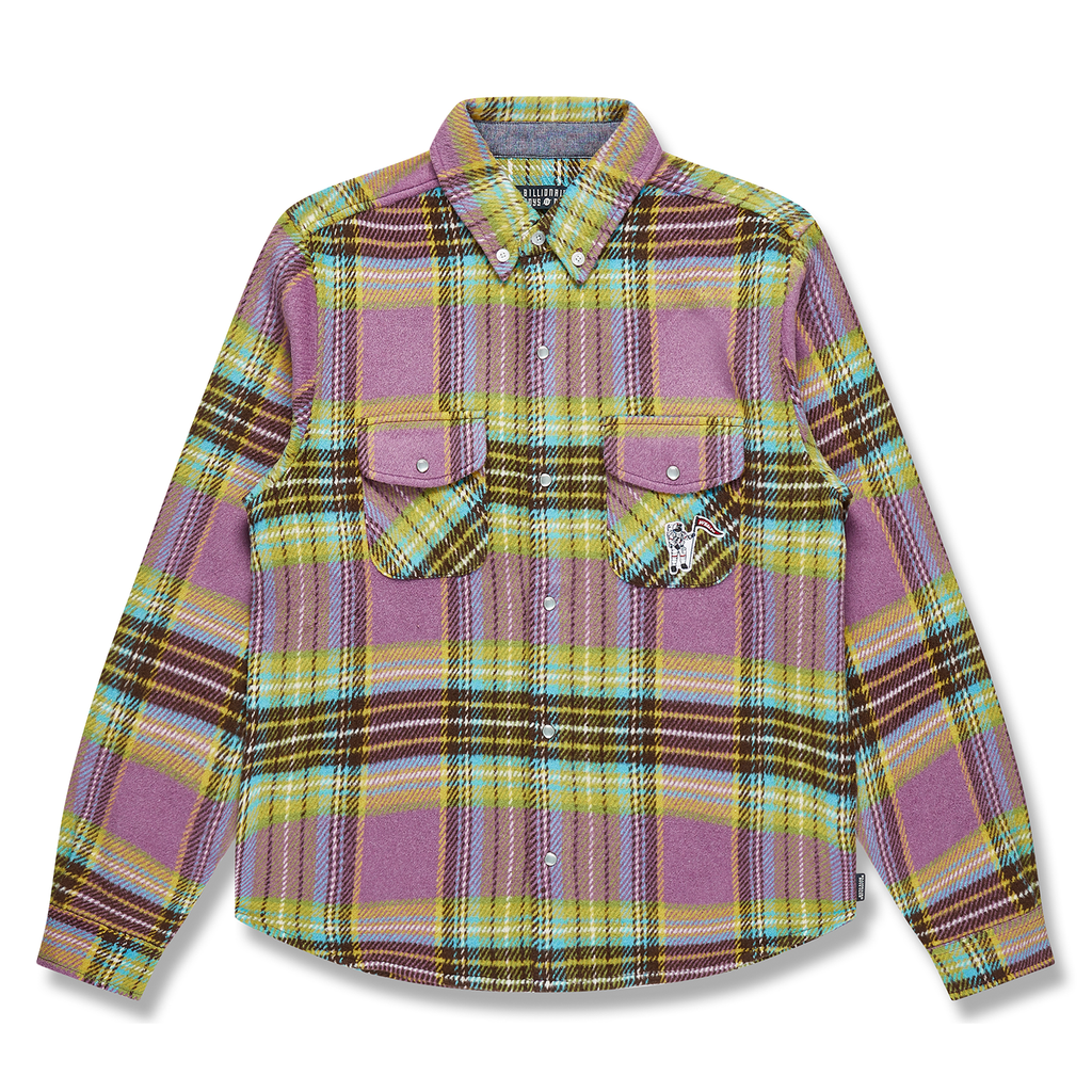 WOOL CHECK SHIRT