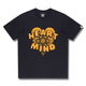 HEART & MIND GRAPHIC T-SHIRT / NAVY / S