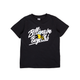 KIDS BUZZ SS TEE / BLACK / 2T
