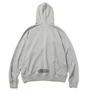 DOLLAR CHENILLE PATCH HOODIE