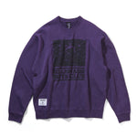 BILLIONAIRE BOYS CLUB × PEANUTS OVERDYED CREWNECK SWEATSHIRT