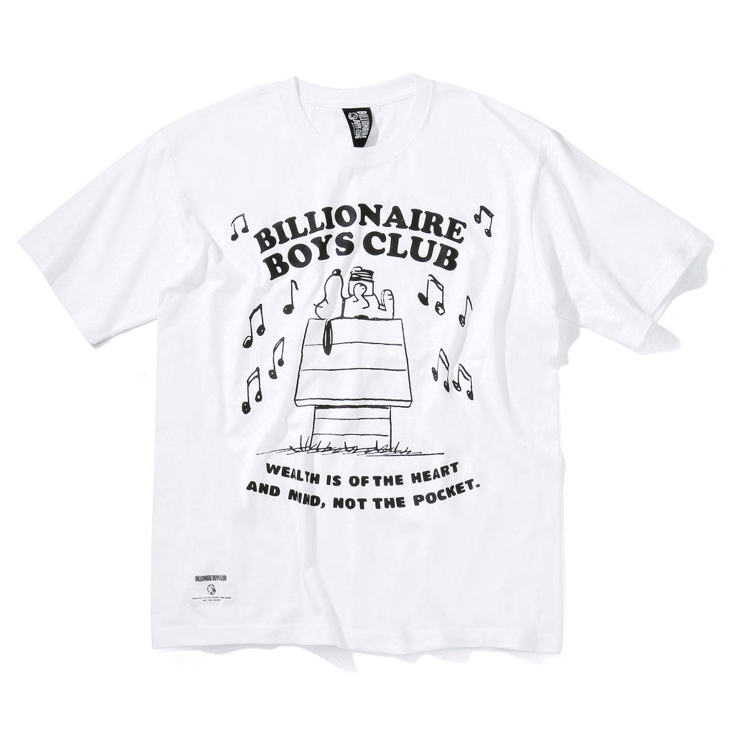 BILLIONAIRE BOYS CLUB × PEANUTS T-SHIRT