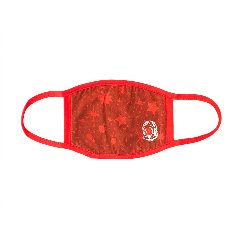STARFIELD FACE MASK-RED
