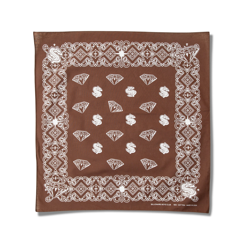 DIAMONDS & DOLLARS BANDANA