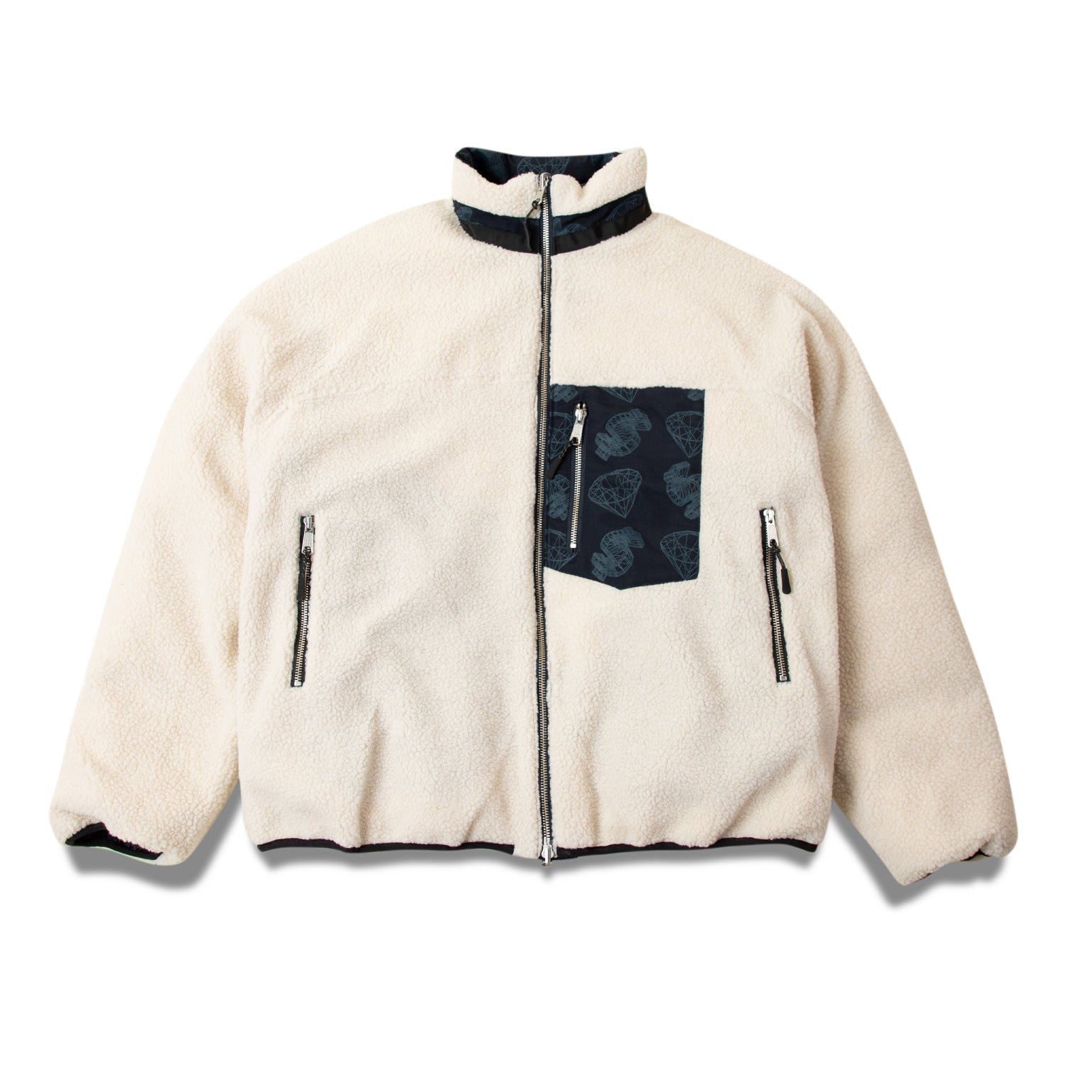 WIREFRAME PUFFER JACKET