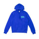 ARCH PULLOVER HOODIE / lapis blue / S