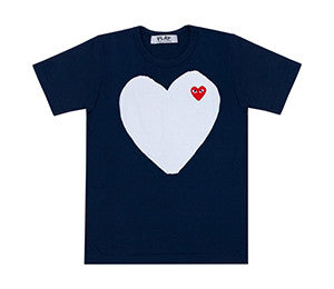 CDG Play PLAY Full Heart T-Shirt