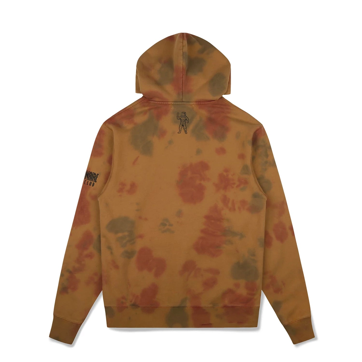 BLEACHED STRAIGHT LOGO POPOVER HOOD