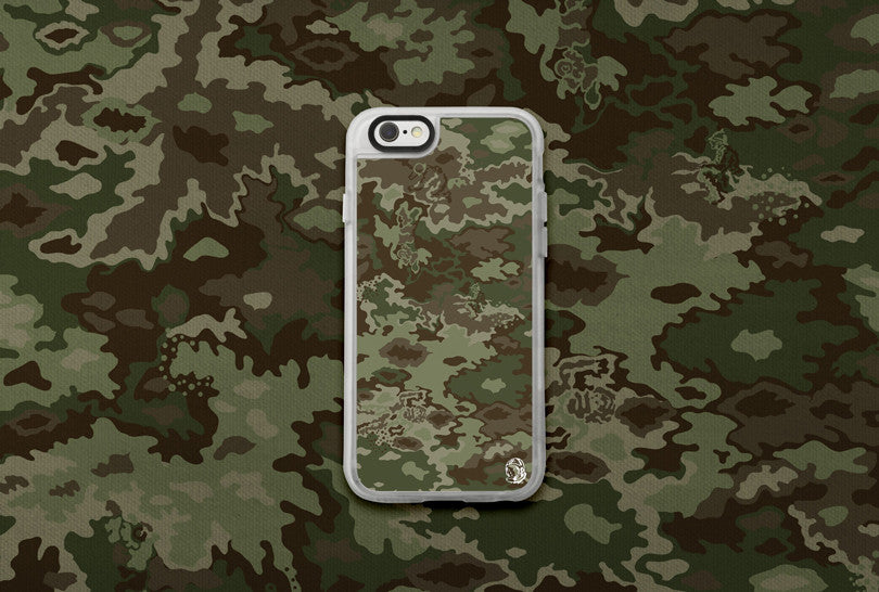 Billionaire Boys Club Camo iPhone Case