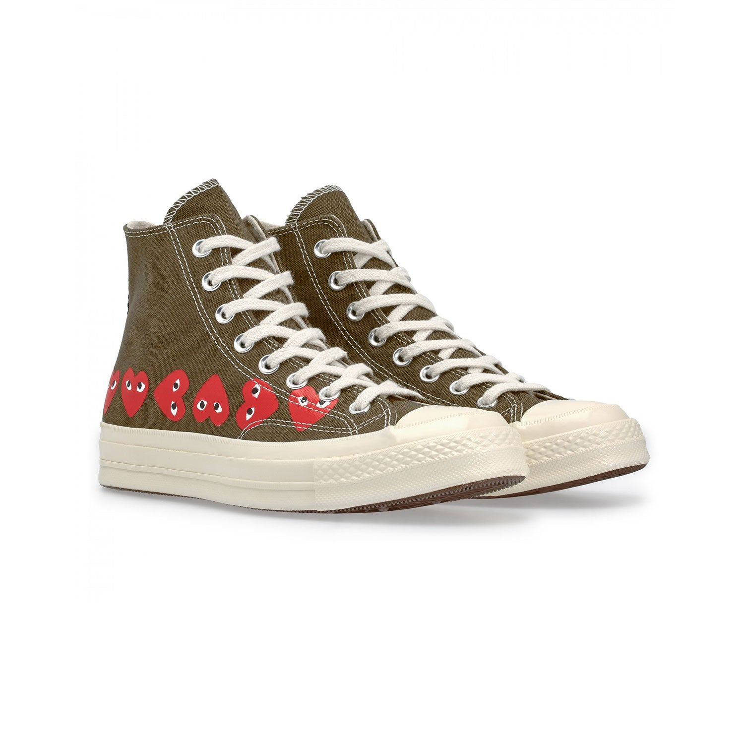 CHUCK TAYLOR ALLSTAR MULTI HEART HIGH KHAKI
