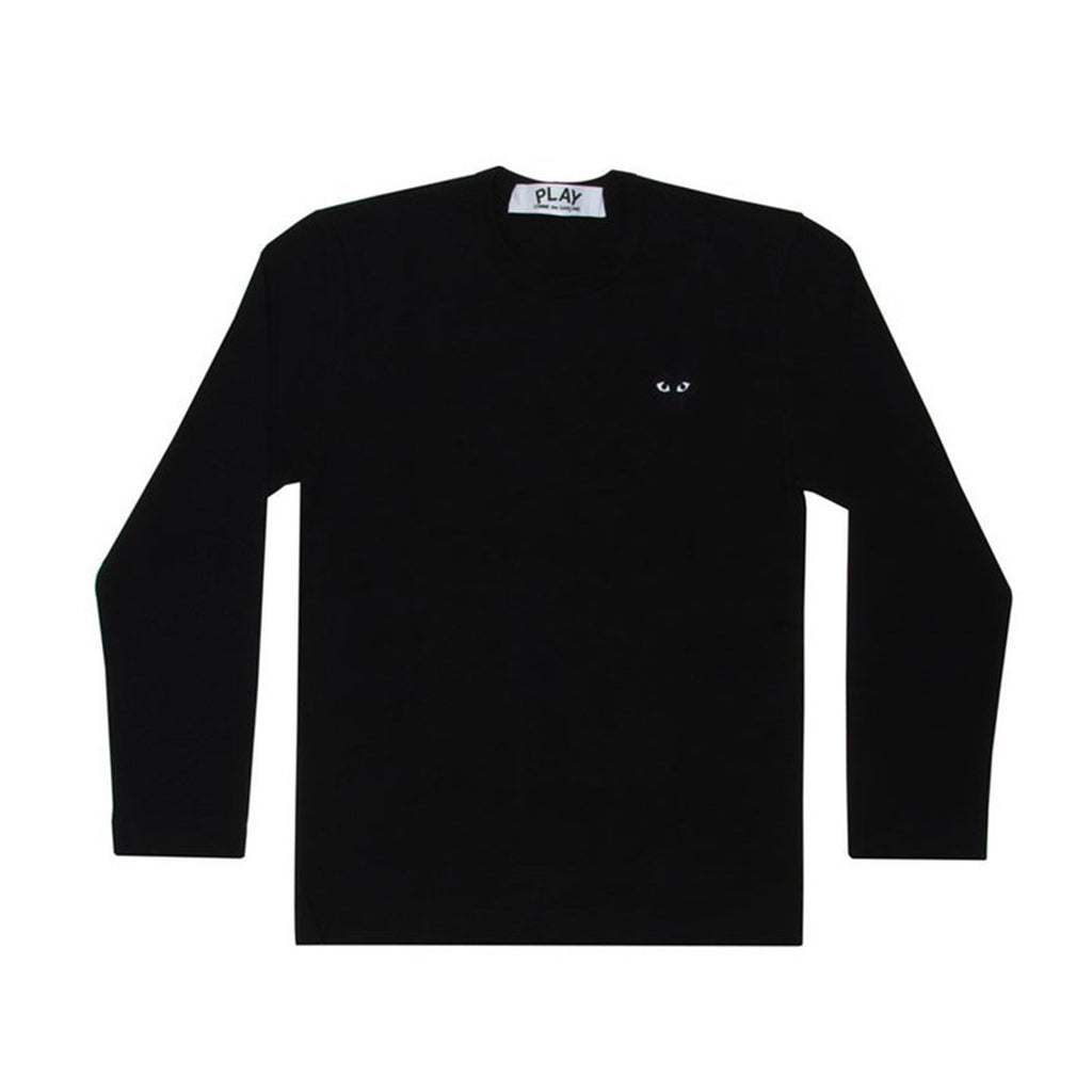 PLAY LITTLE BLACK HEART L/S T-SHIRT