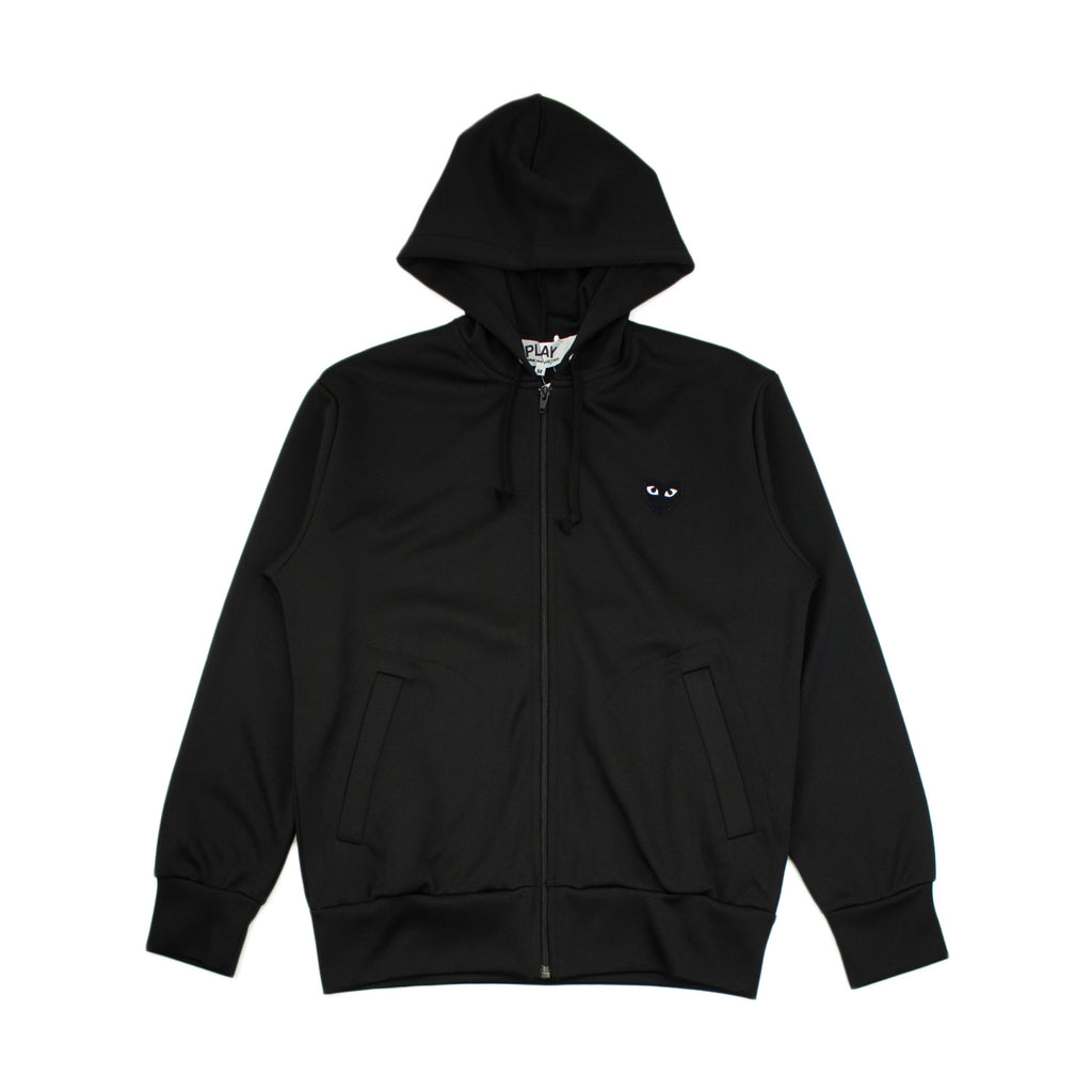 PLAY ZIP SWEATSHIRT BLACK