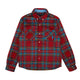 CHECK FLANNEL SHIRT / BLUE / S