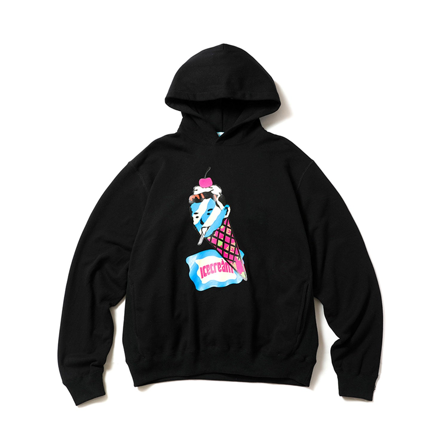 CONE MAN SIDE POCKET HOODIE