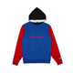 COLOUR BLOCK POPOVER HOOD / BLUE / S