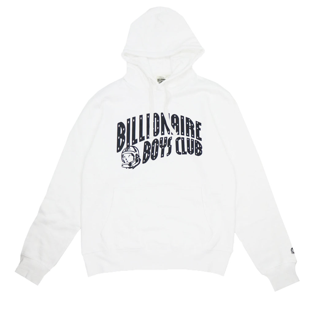 CLASSIC CURVE WHITE HOODIE