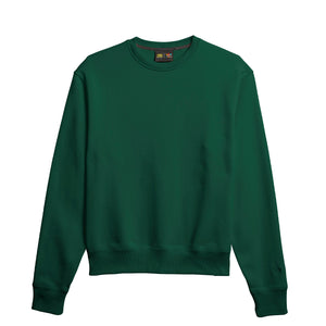 PW BASICS CREW DARK GREEN