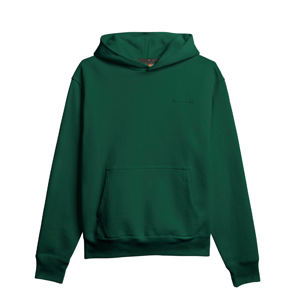 PW BASICS HOOD DARK GREEN