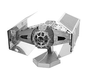 FASCINATIONS METAL EARTH STAR WARS DARTH VADER'S TIE FIGHTER