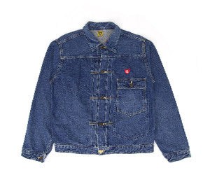 Human Made BEAR DENIM JACKET