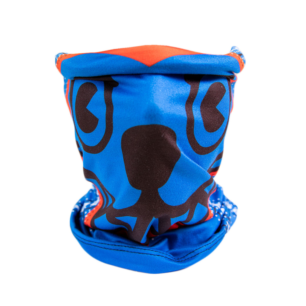 RUNNING DOG FACE NECK GAITER