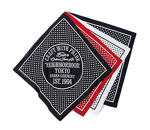 NEIGHBORHOOD DOT BANDANA
